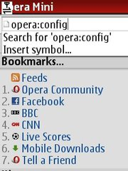 Operaconfig